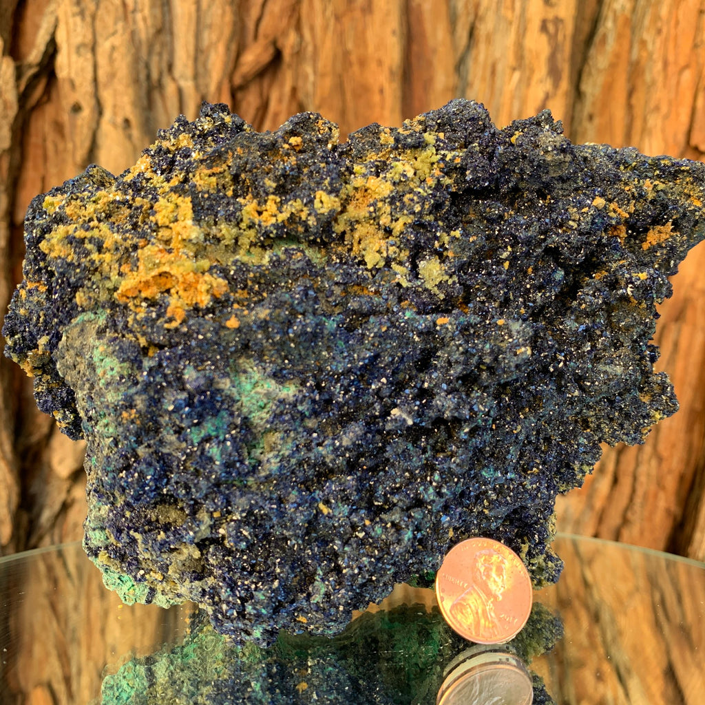 992g 15.5cm Azurite and Malachite from Bou Beker, Morocco