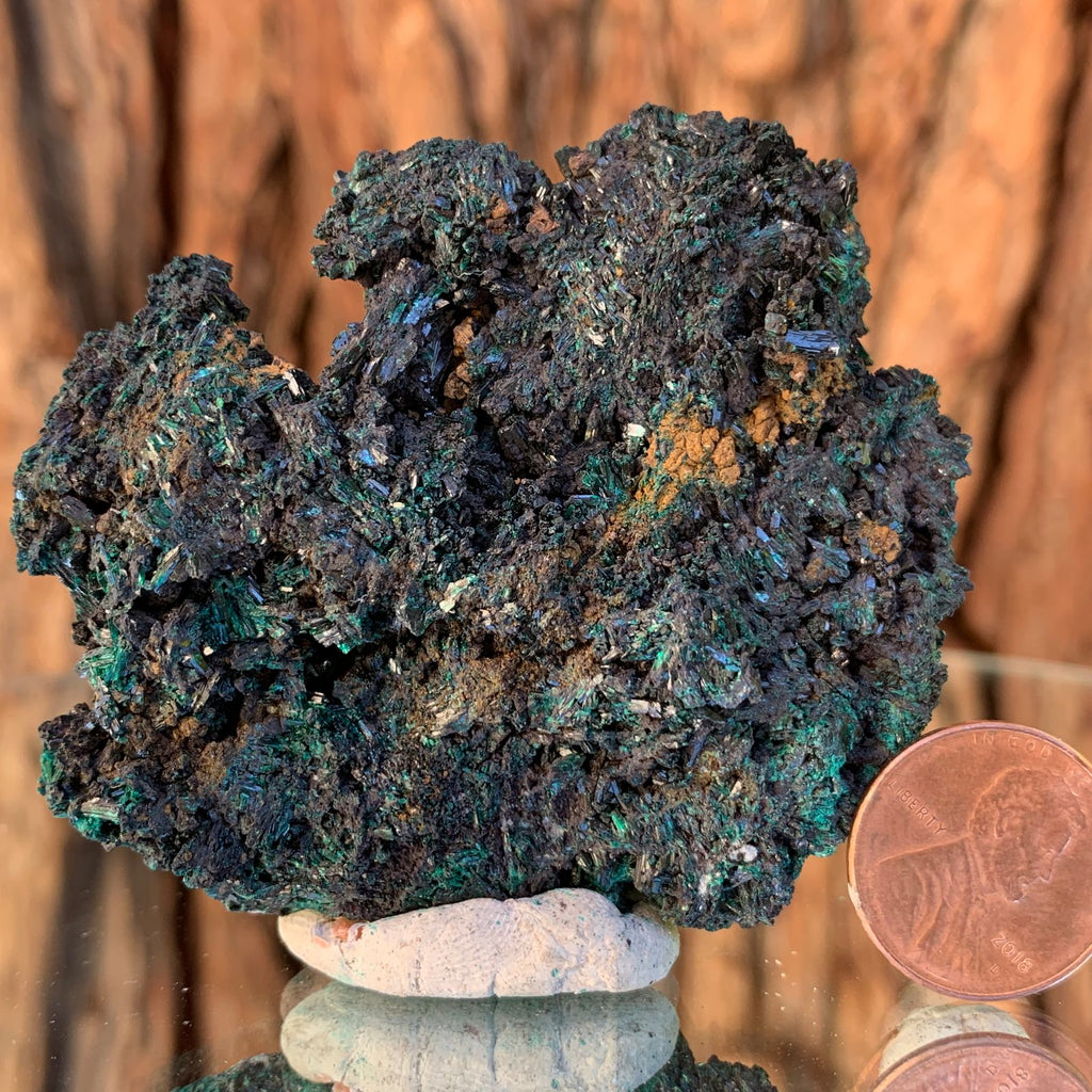 6.5cm 88g Brochantite from Bou Beker, Morocco