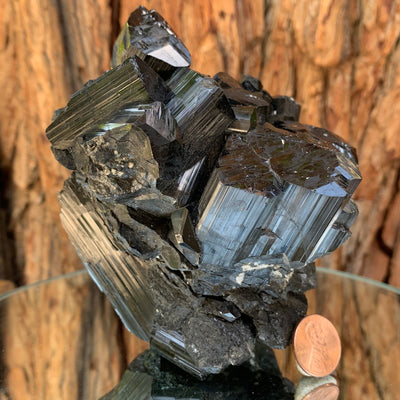 12cm 1.02kg Black Tourmaline from Skardu, Pakistan