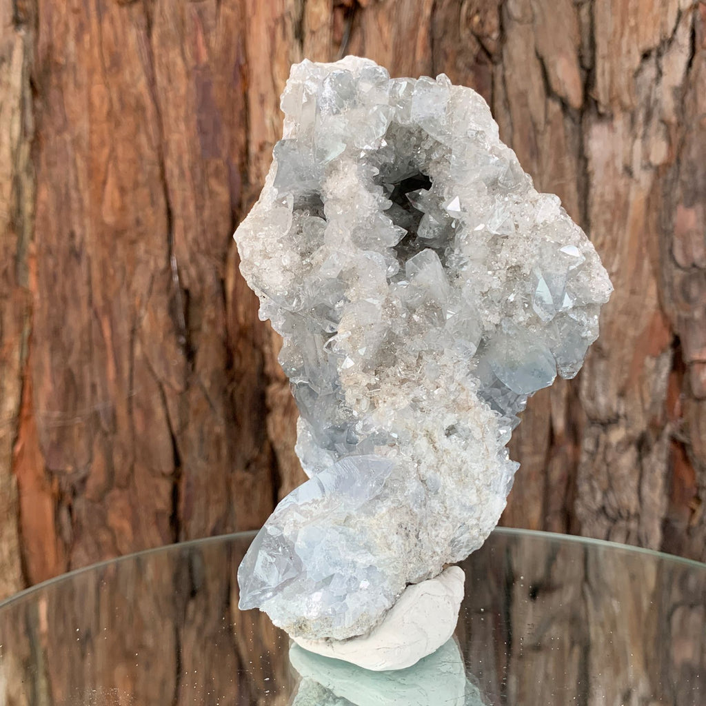 12.5cm 660g Celestite from Madagascar