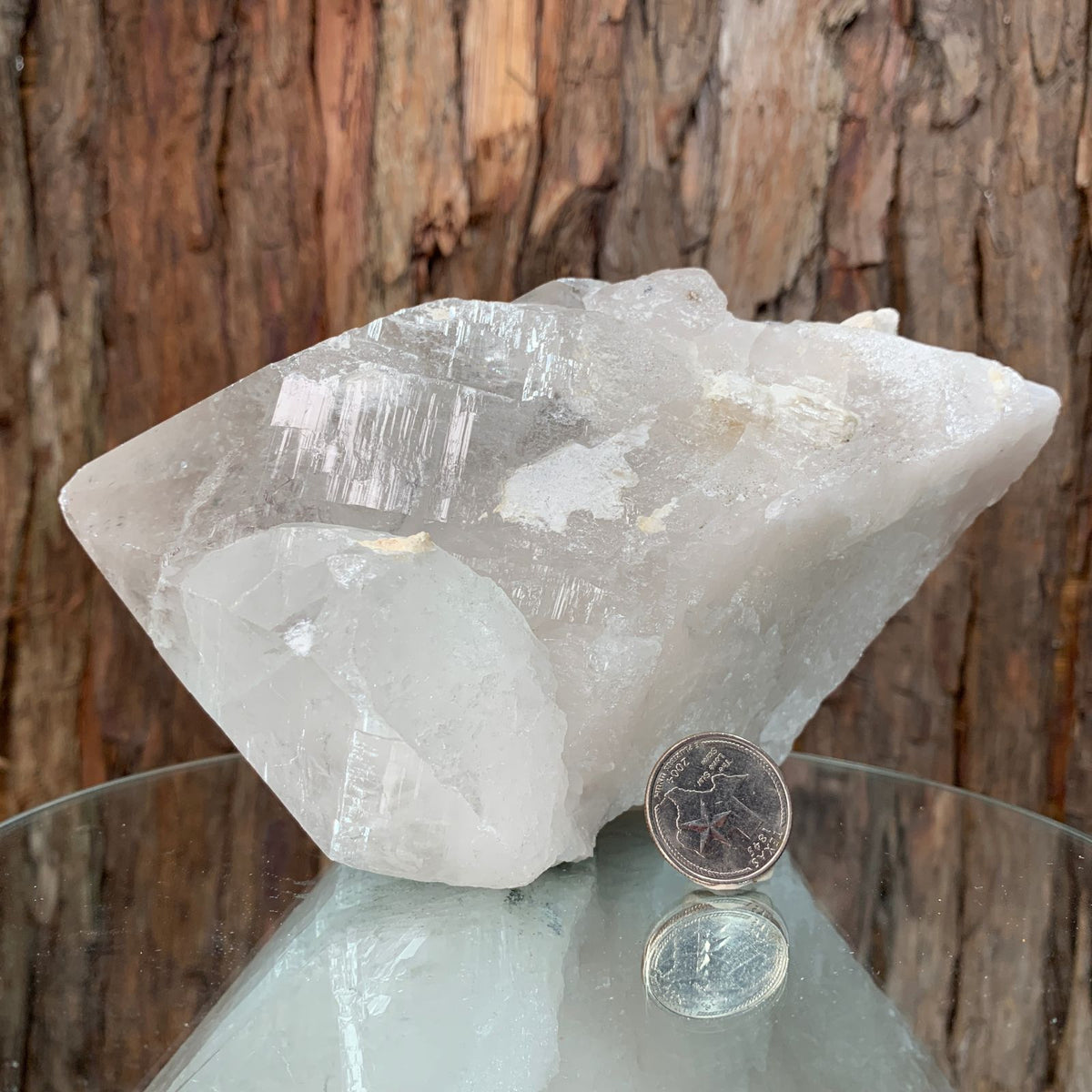 17cm 1.65g Clear Quartz from Brazil