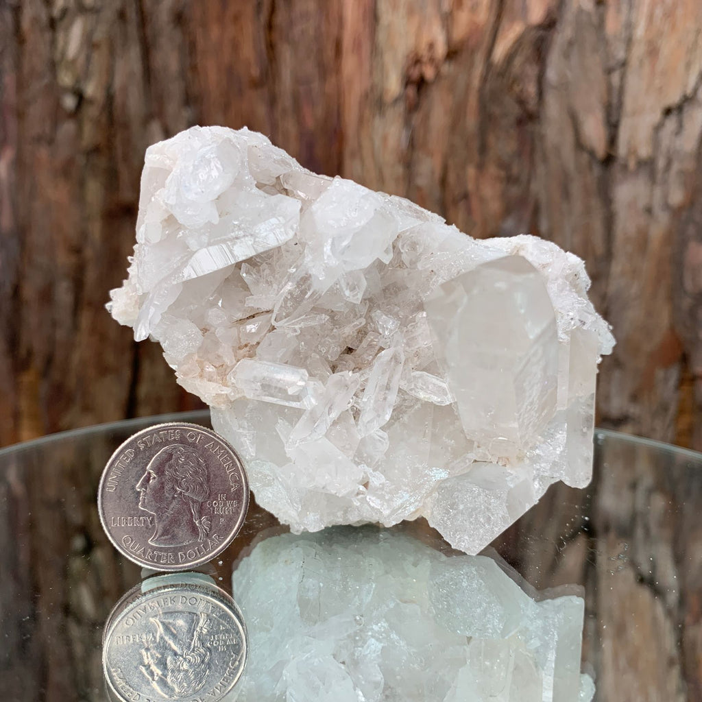 10cm 254g Clear Quartz from Brazil