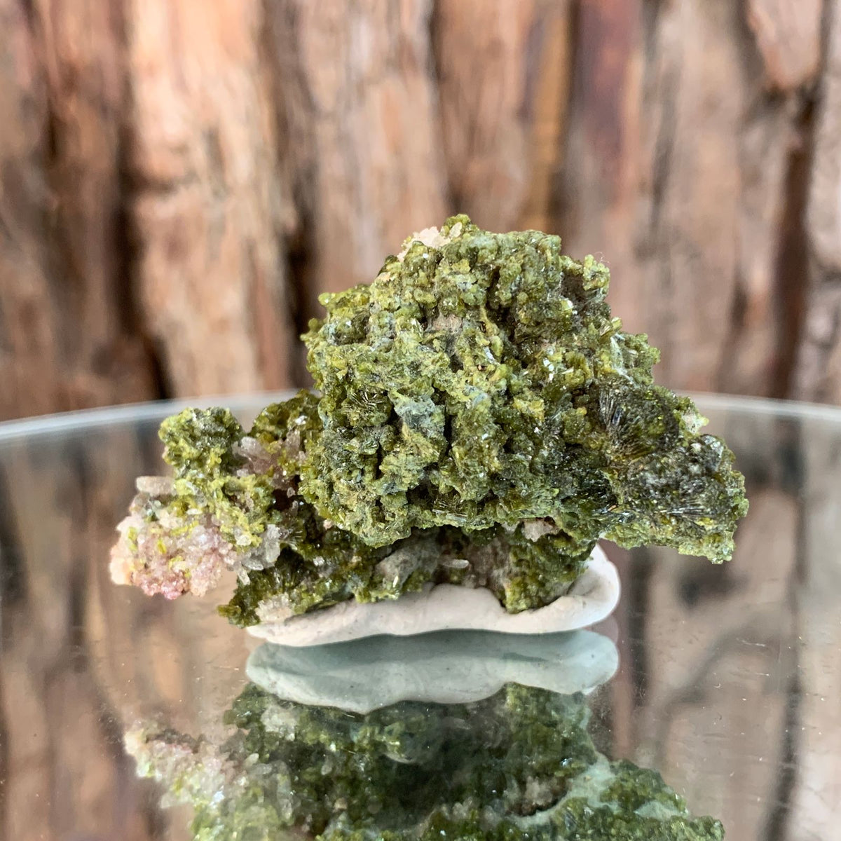 5cm 28g Epidote, Clear Quartz from Morocco