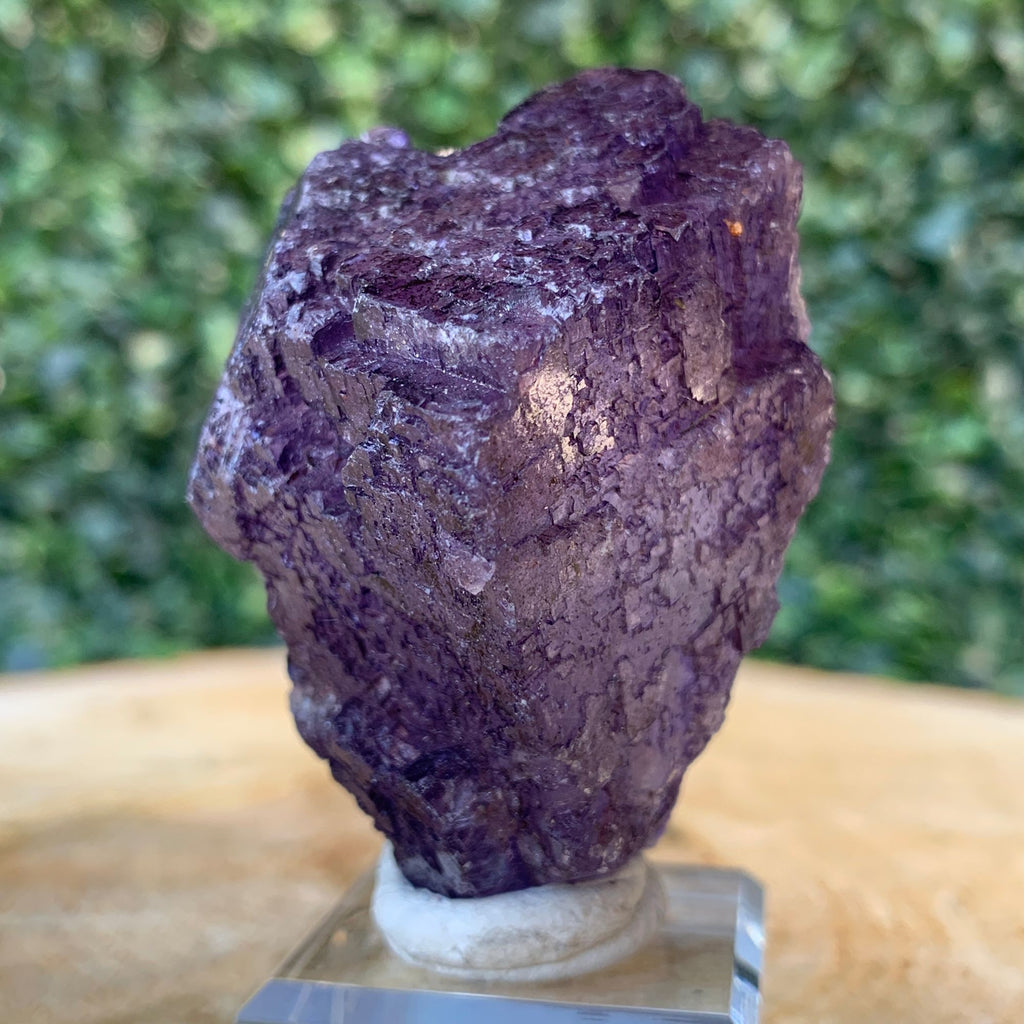 88g 6cm Purple Fluorite Crystal Mineral Specimen from Coahuila, Mexico