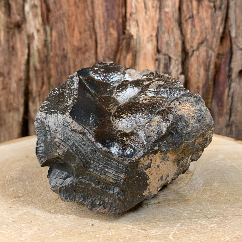 11cm 1.13kg Botryoidal Hematite (Kidney Ore) from Morocco
