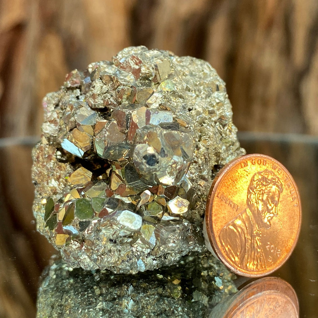 3.5cm 118g Pyrite from Mexico