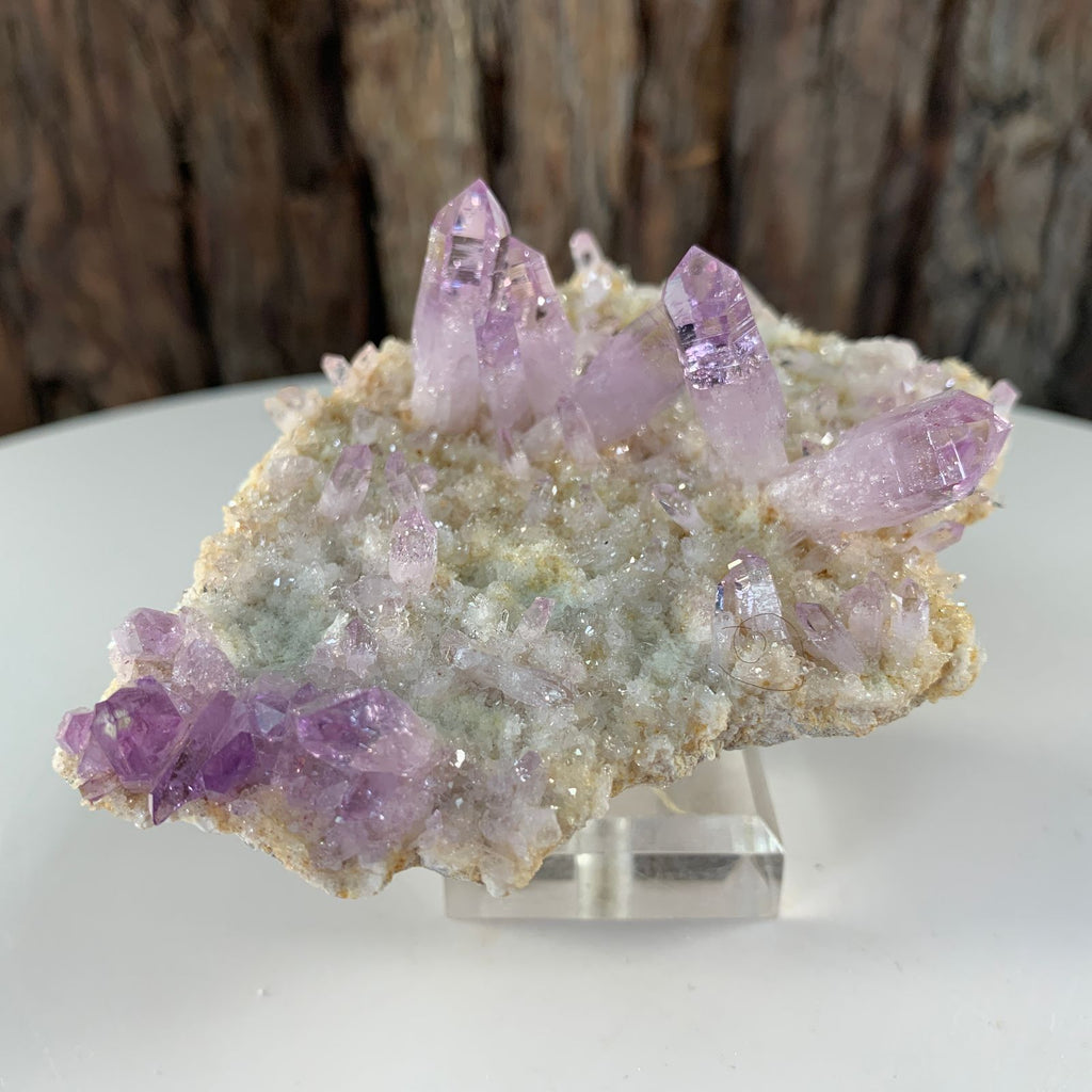 10cm 76g Veracruz Amethyst with Chalcedony from Mexico