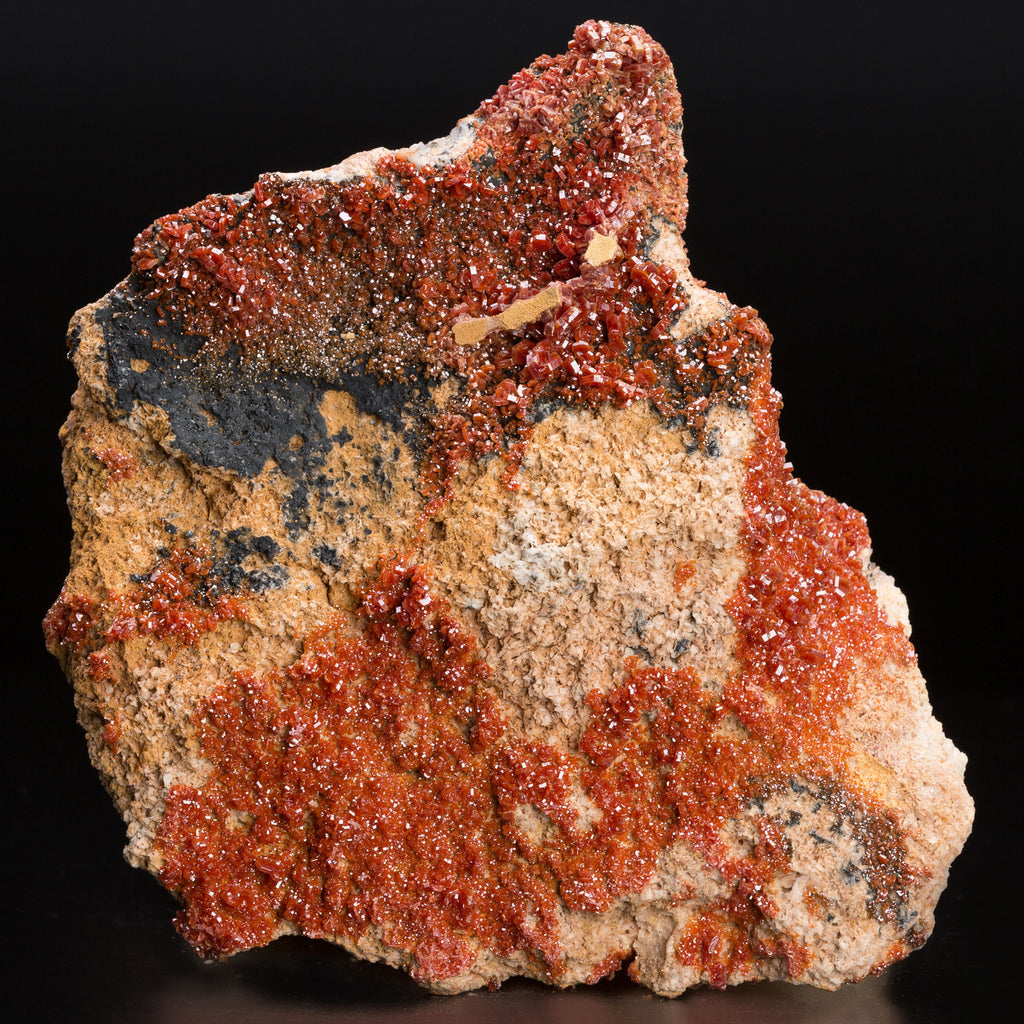 2.12kg 18cm Large Red Vanadinite Crystal Cluster Mineral Specimen from Morocco