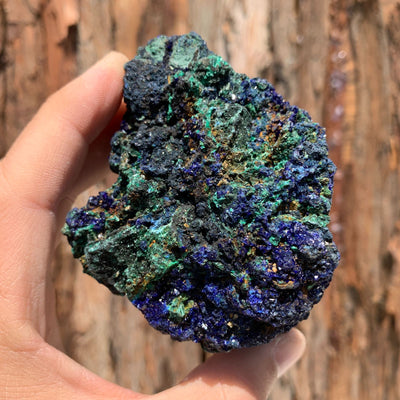 9.5cm 308g Azurite from Sepon Mine, Laos