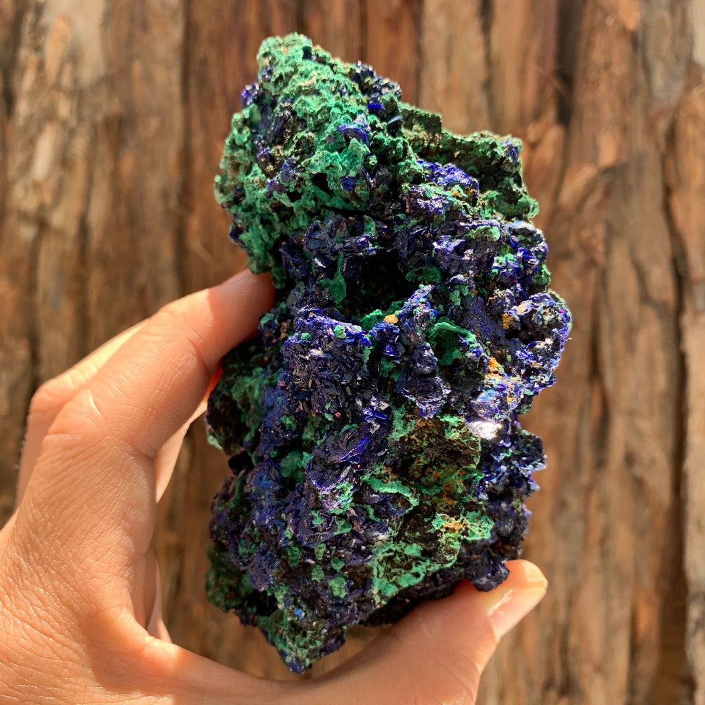 12cm 448g Azurite from Sepon Mine, Laos