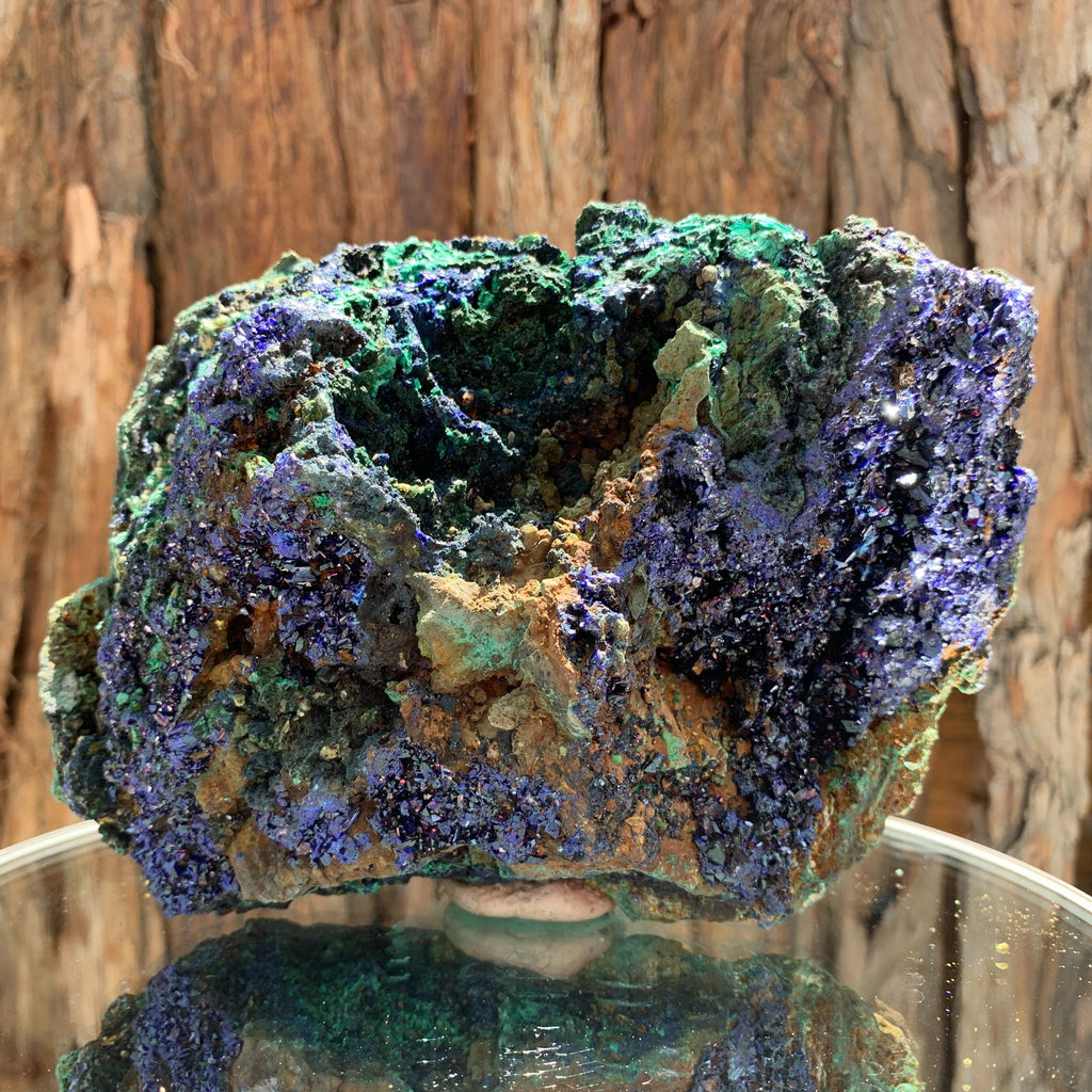 15.5cm 1.37kg Azurite from Sepon Mine, Laos