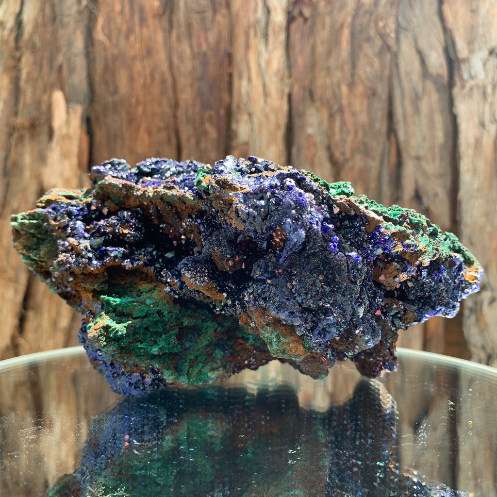 15cm 828g Azurite from Sepon Mine, Laos