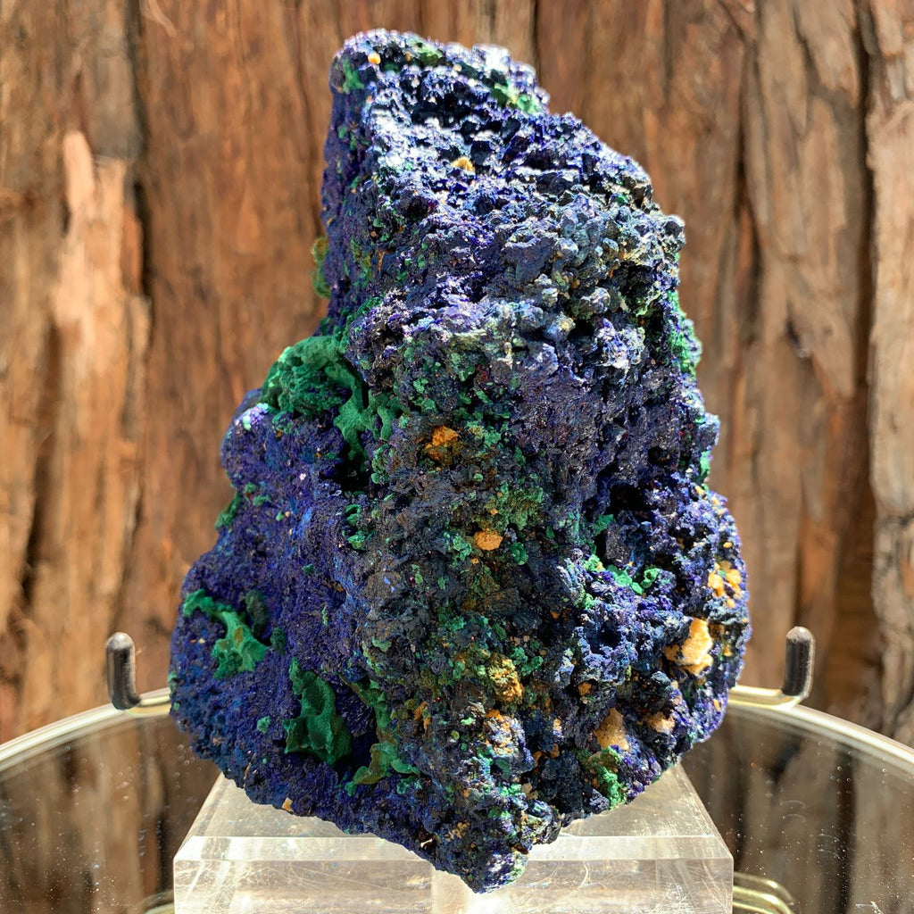 14.5cm 972g Azurite from Sepon Mine, Laos
