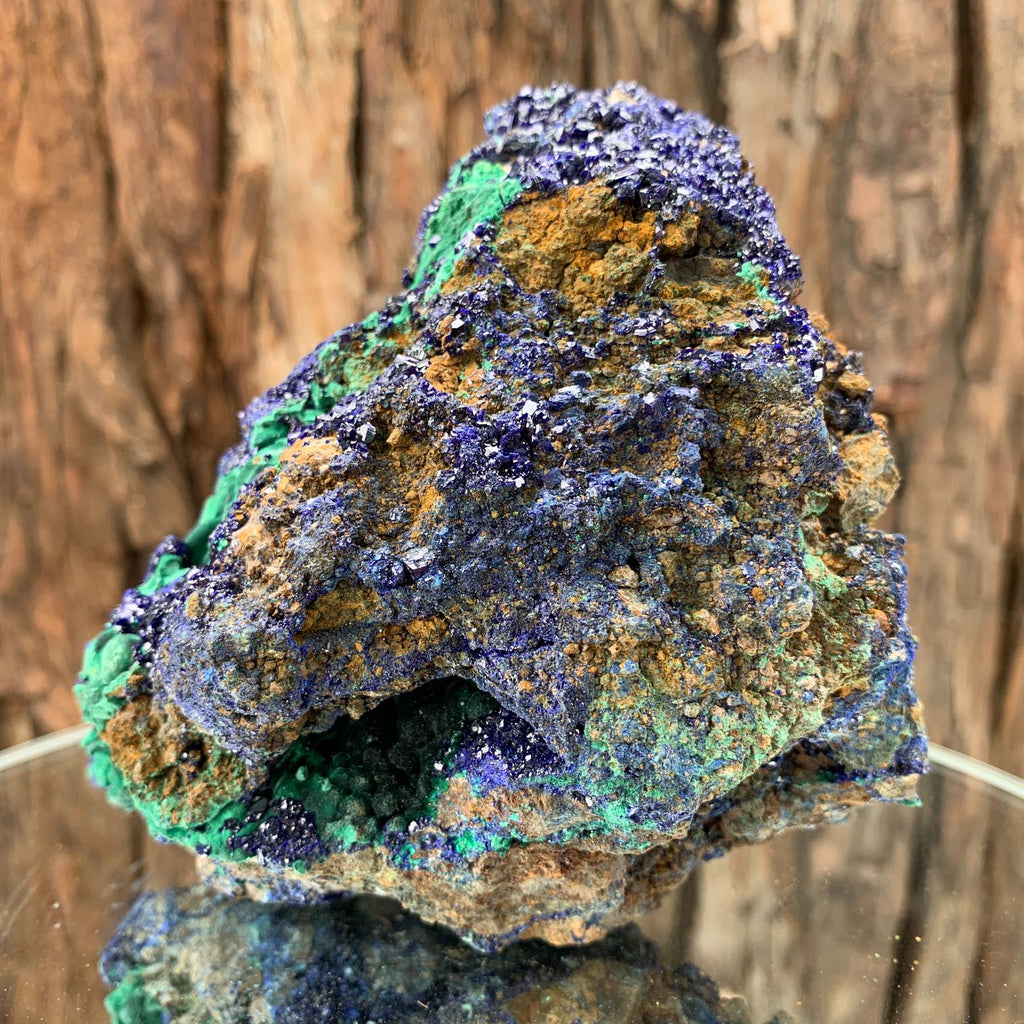 12.5cm 804g Azurite from Sepon Mine, Laos