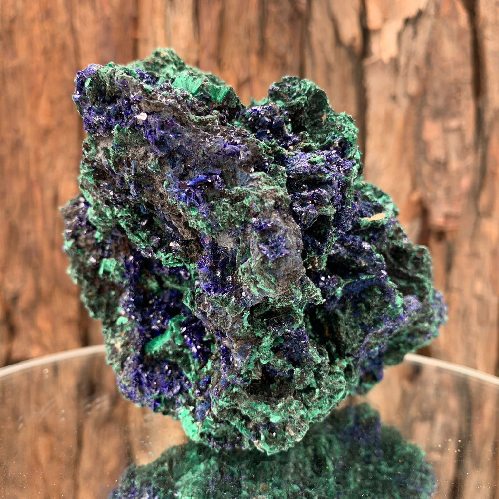 13.5cm 684g Azurite from Sepon Mine, Laos
