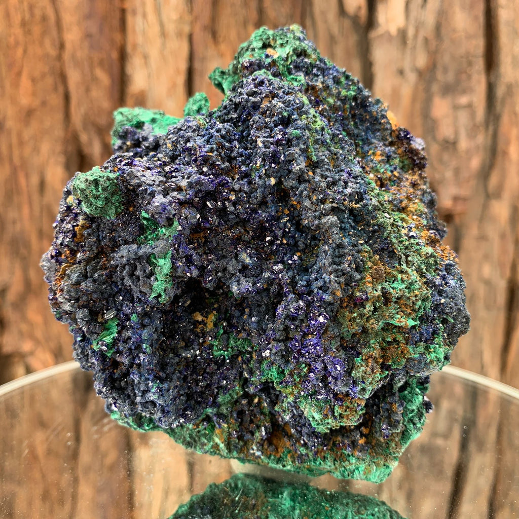 11.5cm 682g Azurite from Sepon Mine, Laos