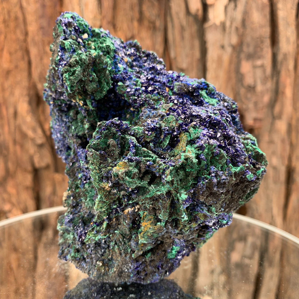 12.3cm 526g Azurite from Sepon Mine, Laos