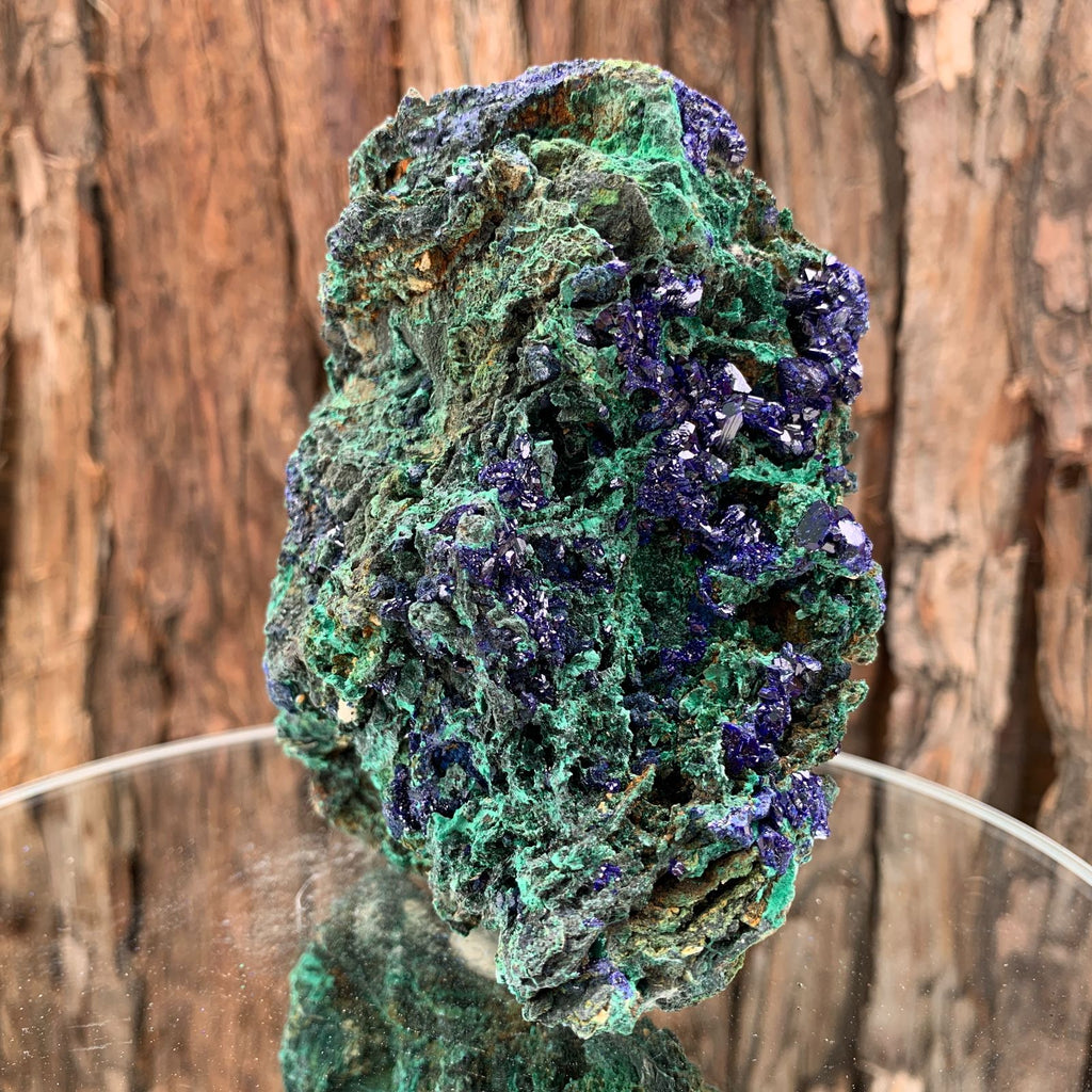 11.7cm 746g Azurite from Sepon Mine, Laos