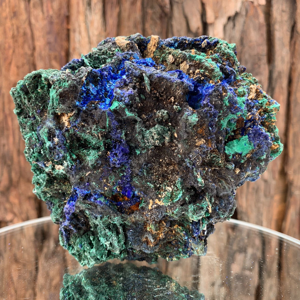 12cm 612g Azurite from Sepon Mine, Laos