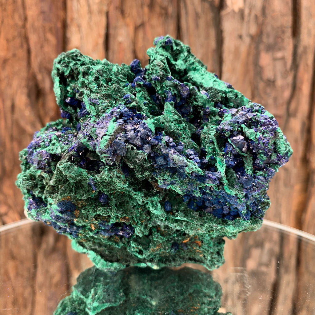 10.3cm 730g Azurite from Sepon Mine, Laos