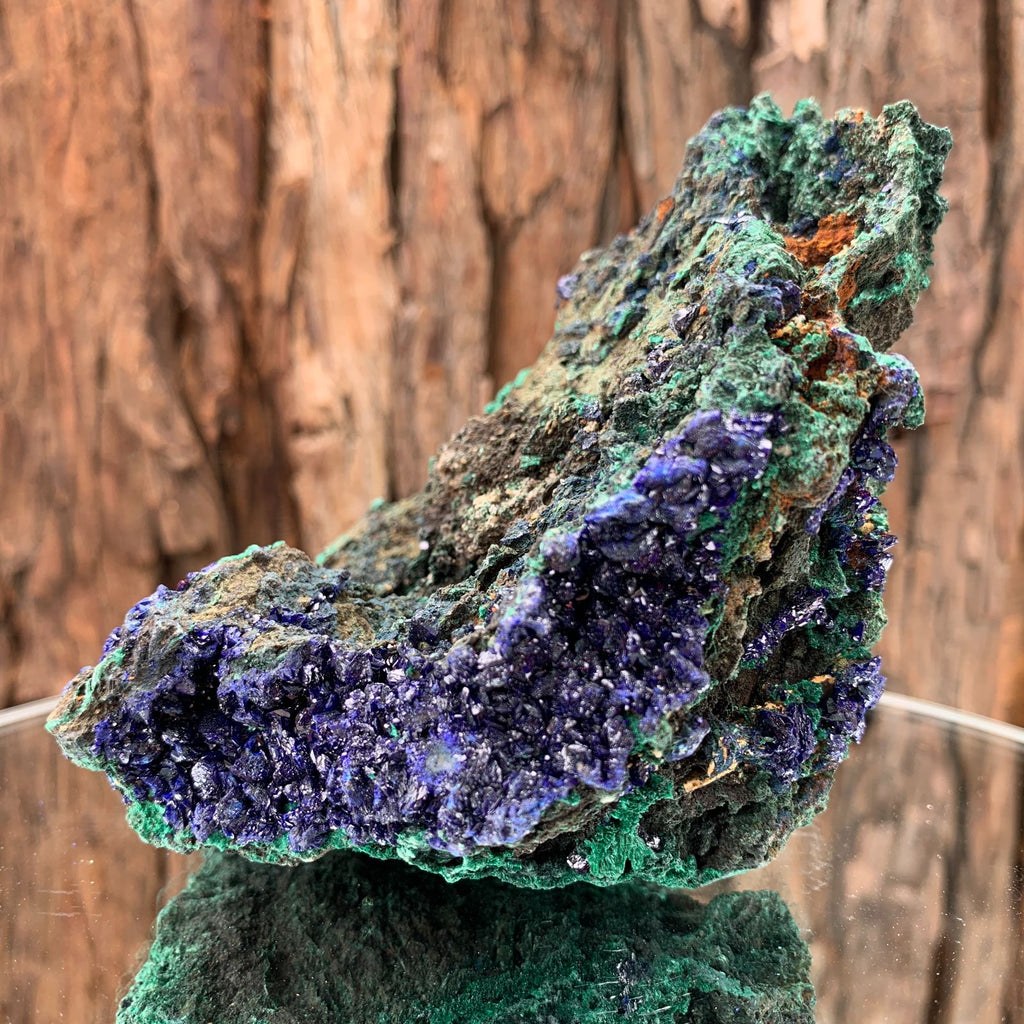 14.1cm 590g Azurite from Sepon Mine, Laos