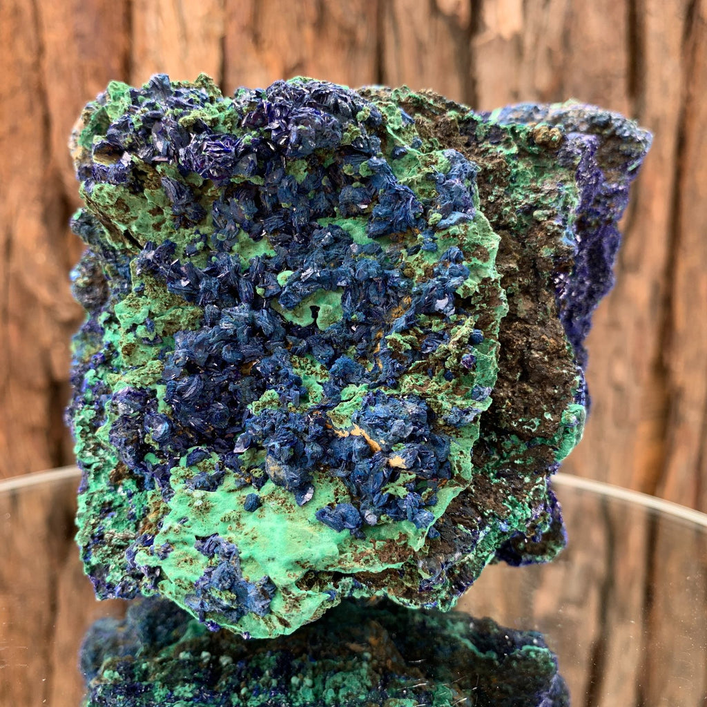 13.3cm 716g Azurite from Sepon Mine, Laos