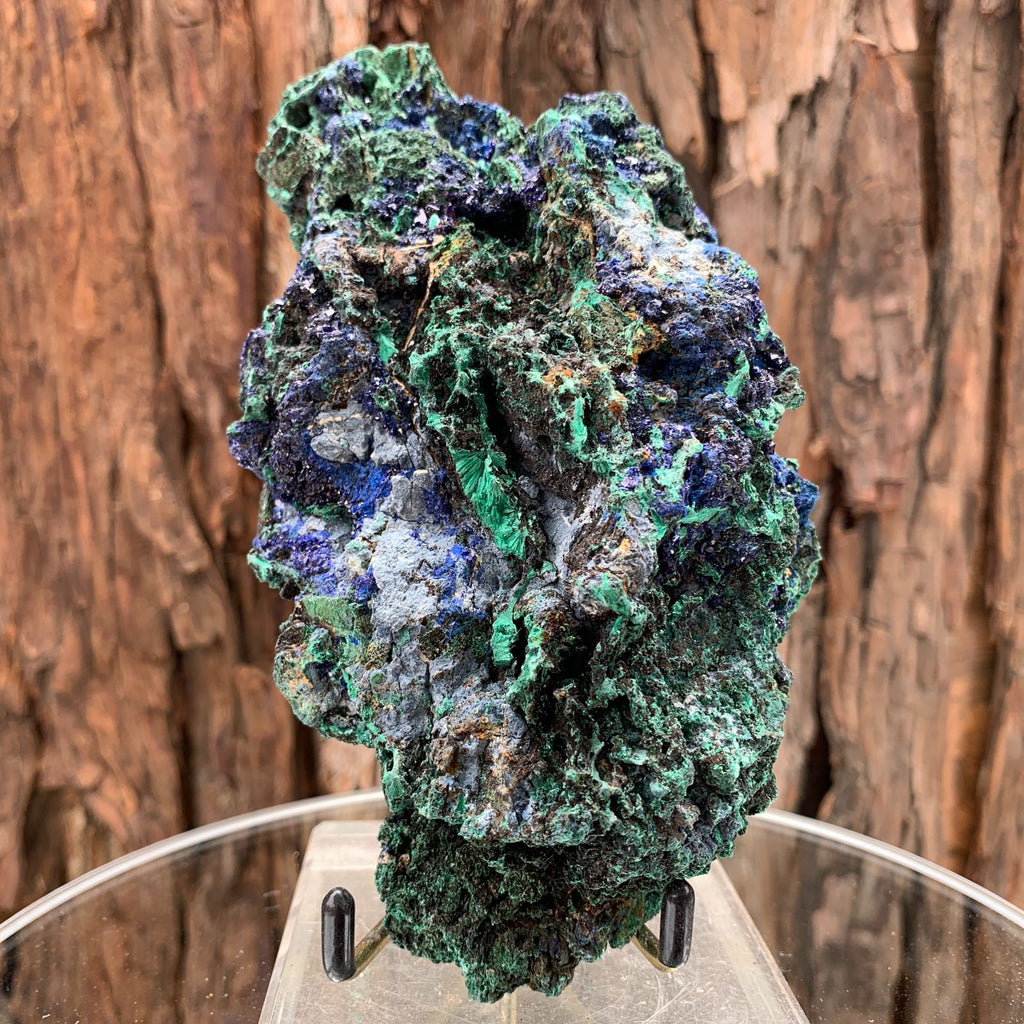 17cm 740g Azurite from Sepon Mine, Laos