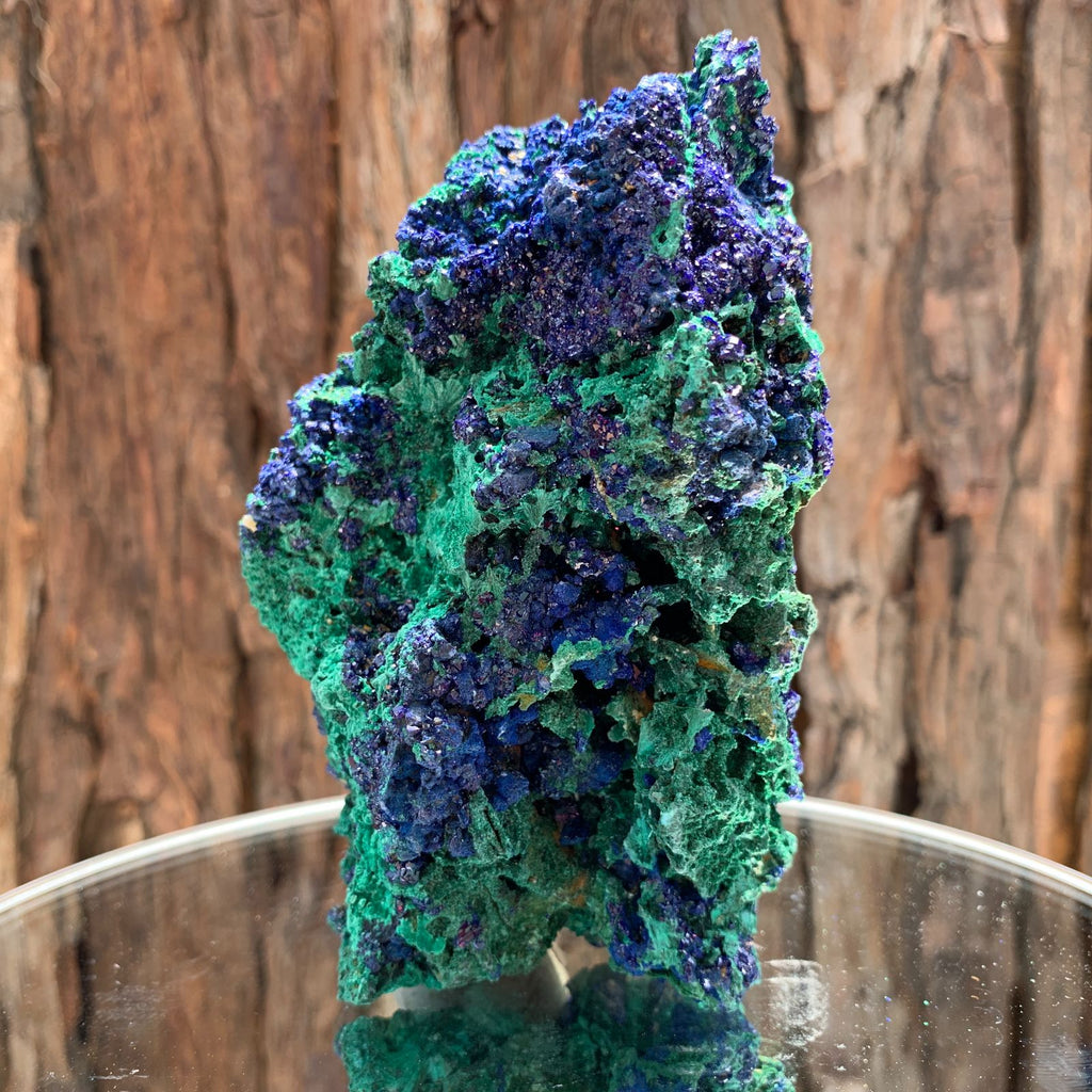 12.7cm 684g Azurite from Sepon Mine, Laos