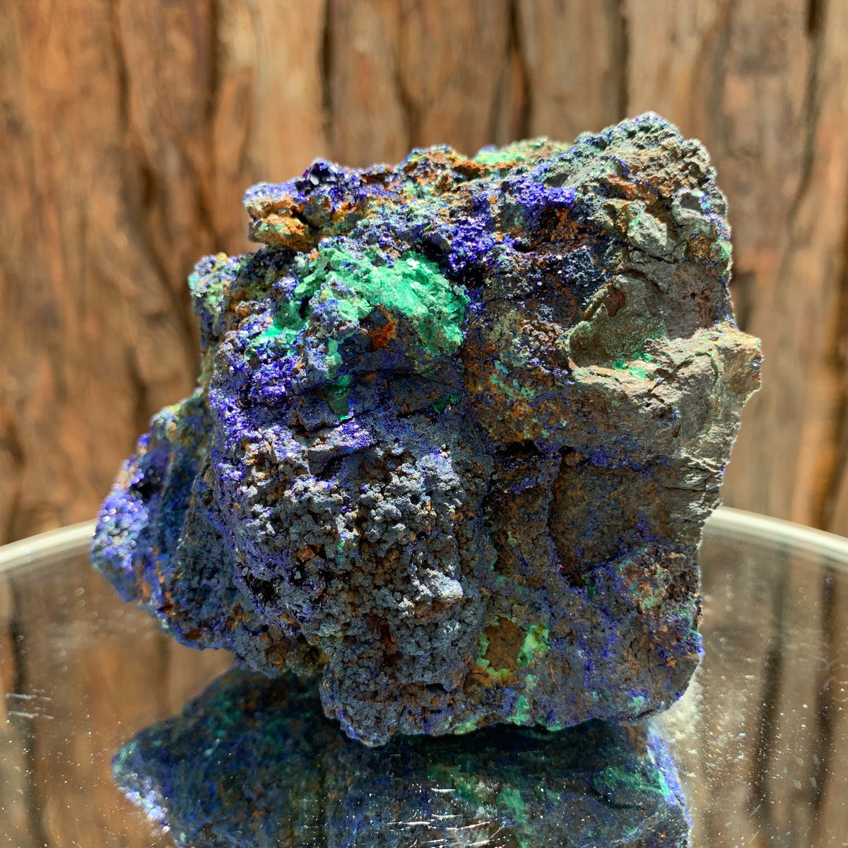 9.2cm 694g Azurite from Sepon Mine, Laos