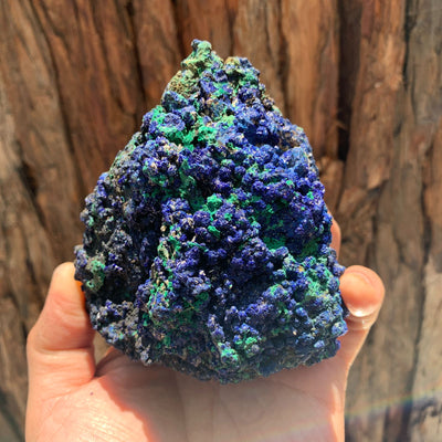 10.6cm 648g Azurite from Sepon Mine, Laos
