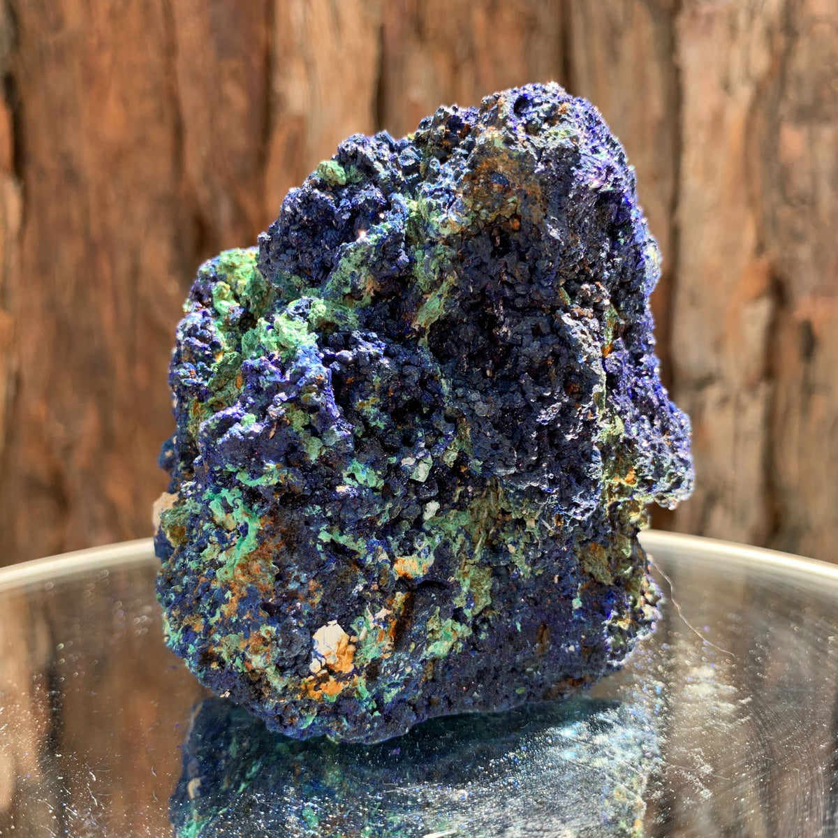 8.2cm 506g Azurite from Sepon Mine, Laos