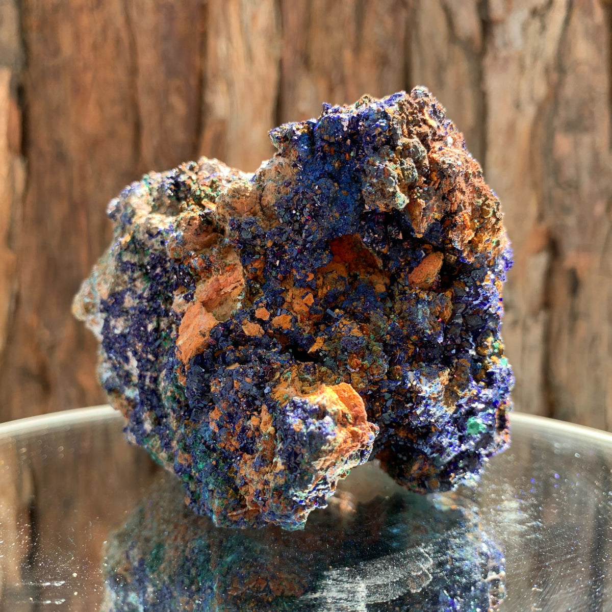 9.7cm 418g Azurite from Sepon Mine, Laos