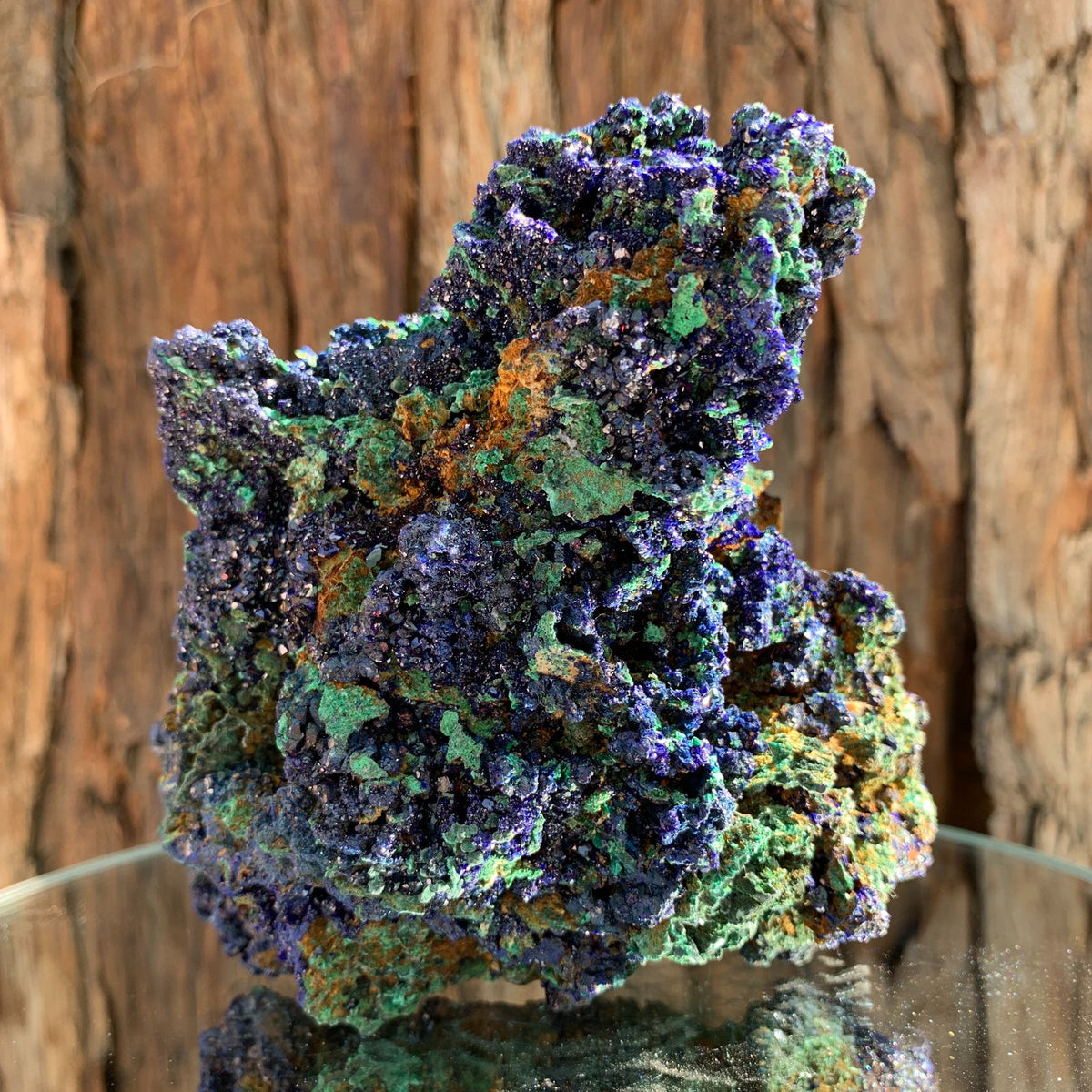 11cm 696g Azurite from Sepon Mine, Laos