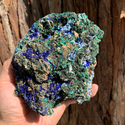 13cm 980g Azurite from Sepon Mine, Laos