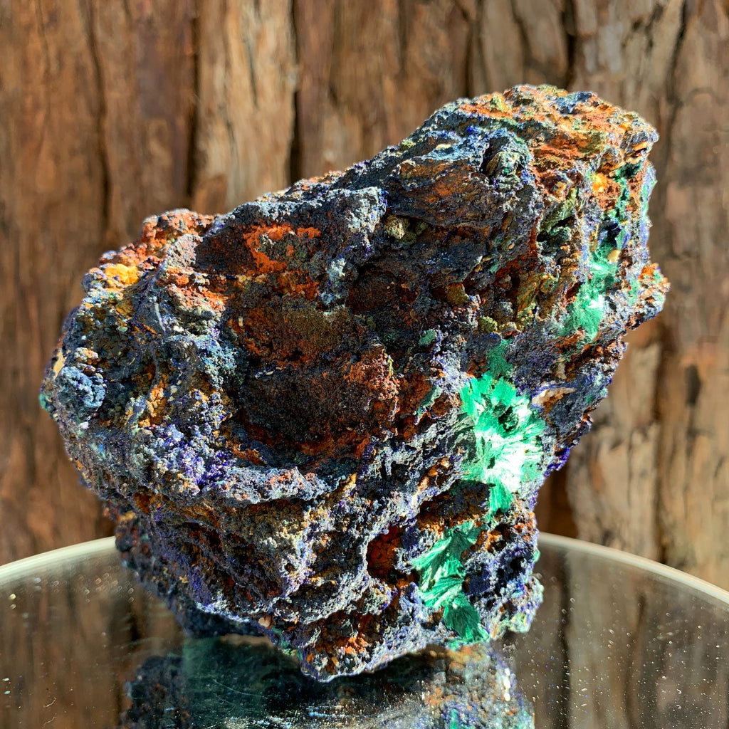 14cm 870g Azurite from Sepon Mine, Laos