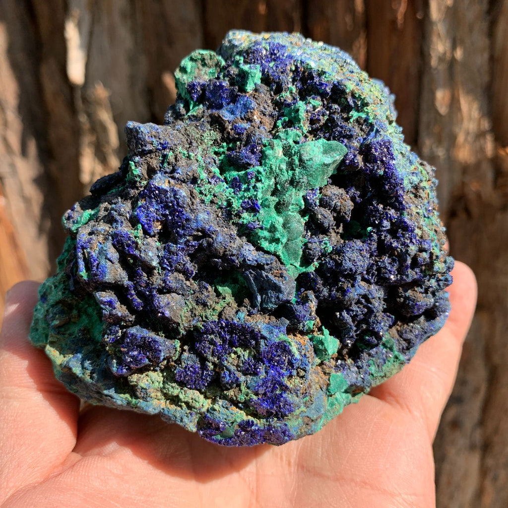 11cm 812g Azurite from Sepon Mine, Laos