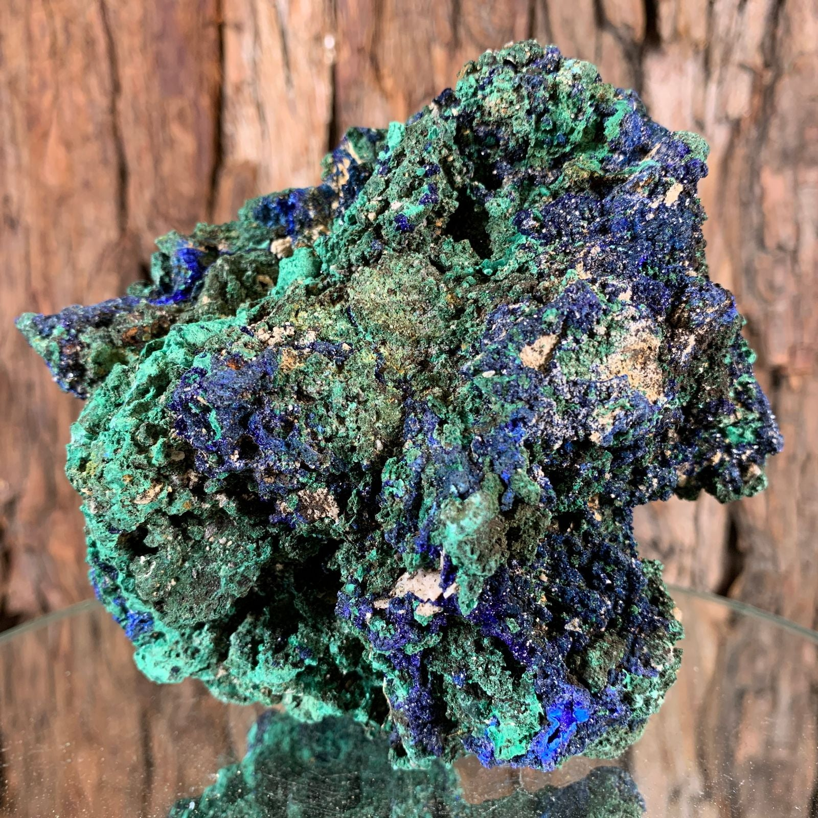 12cm 764g Azurite from Sepon Mine, Laos