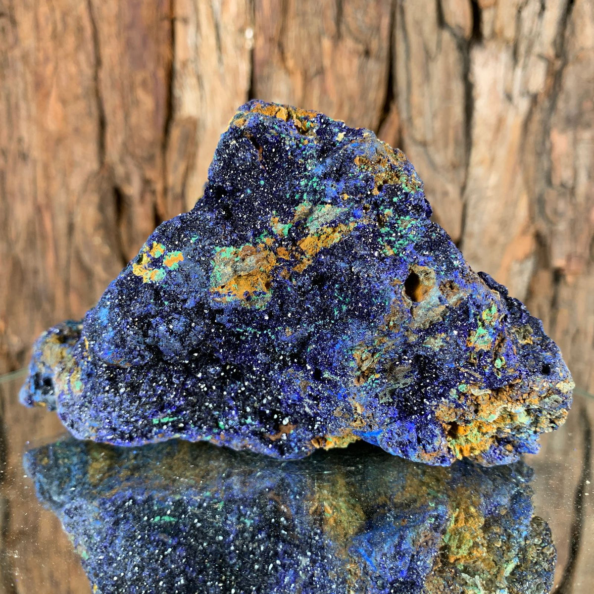 13.5cm 1.13kg Azurite from Sepon Mine, Laos