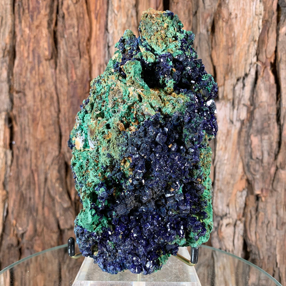 14.5cm 1.25kg Azurite and Malachite from Sepon Mine, Laos