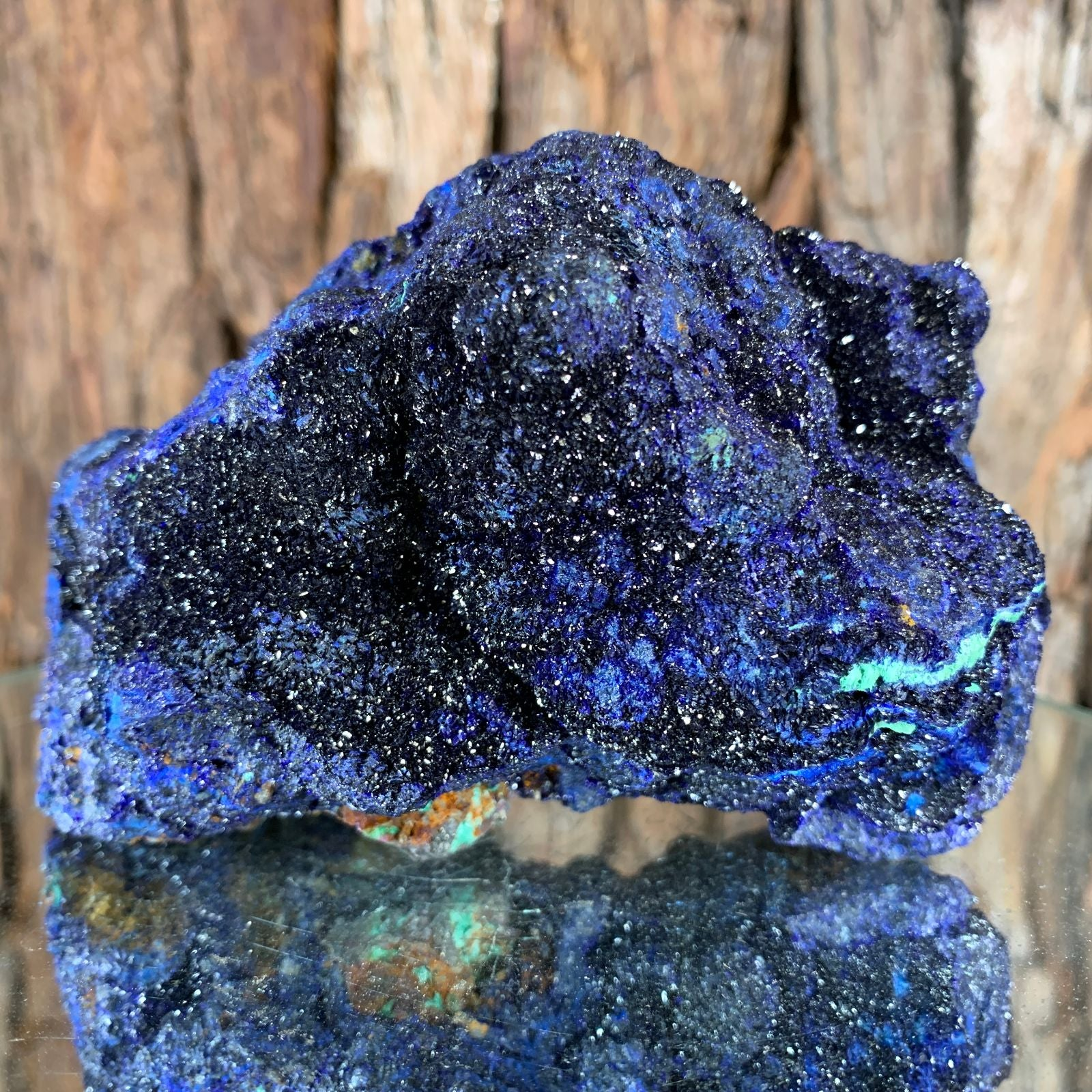 12cm 1.1kg Azurite from Sepon Mine, Laos