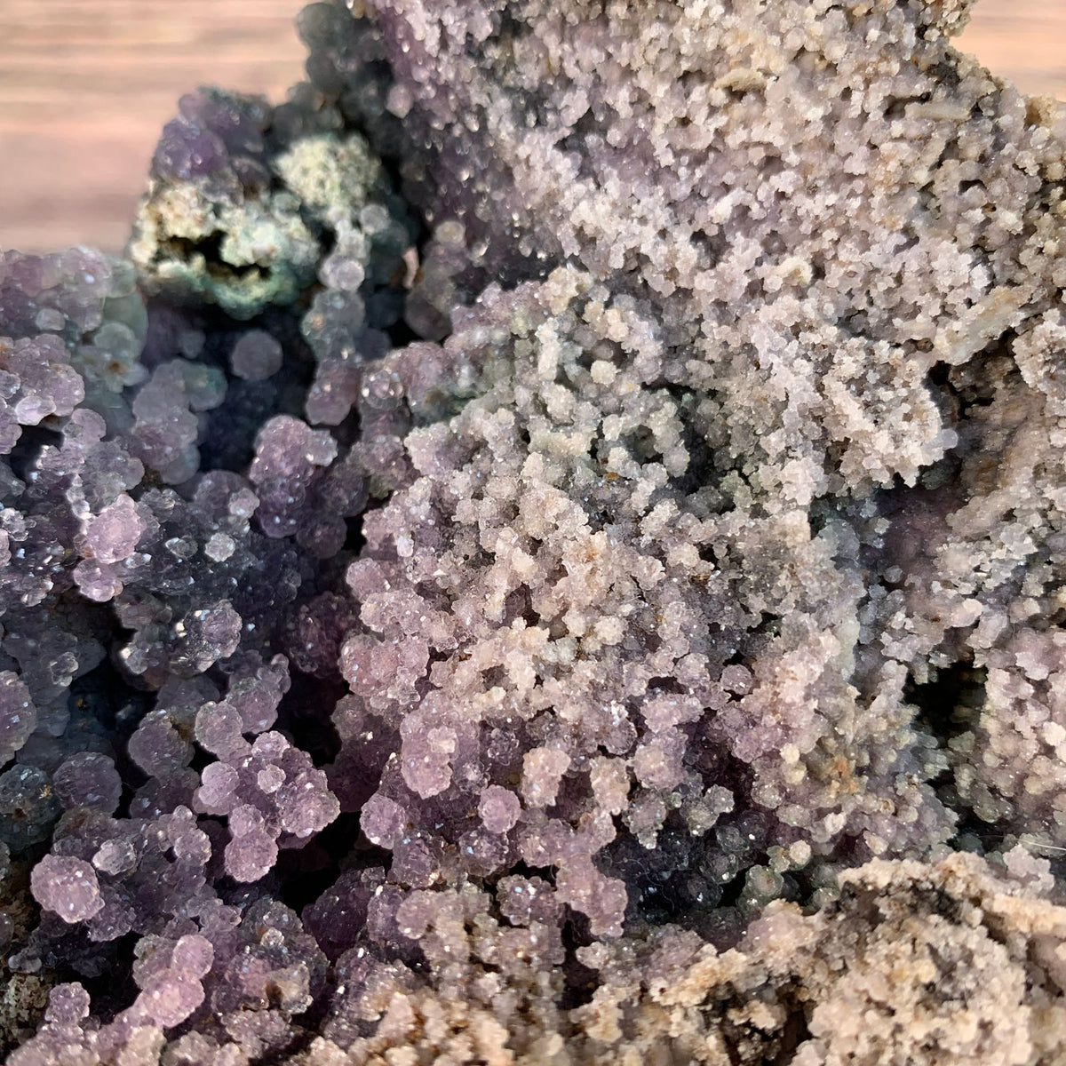 18cm 1.76kg Grape Agate (Botryoidal Chalcedony) from Manakarra, Sulawesi, Indonesia