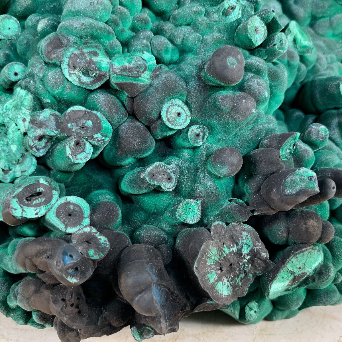 18cm 5.21kg Malachite from Sepon Mine, Laos