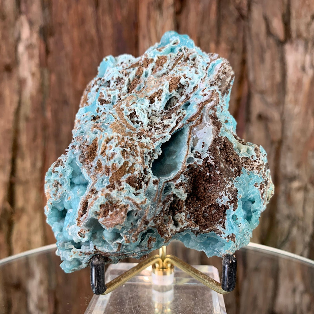 9.2cm 260g Hemimorphite from Gejiu, Yunnan, China