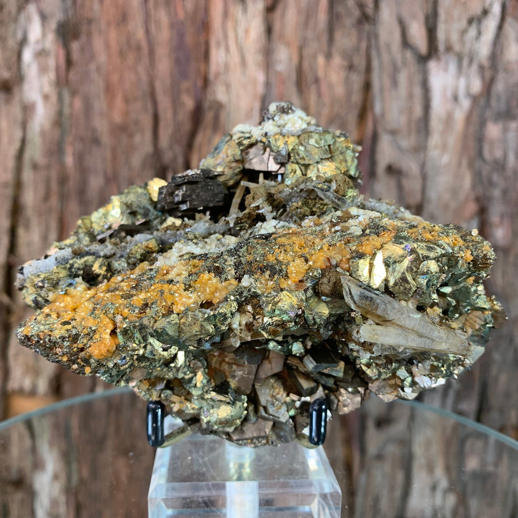 12.8cm 788g Pyrrhotite and Chalcopyrite from Chifeng, Inner Mongolia, China
