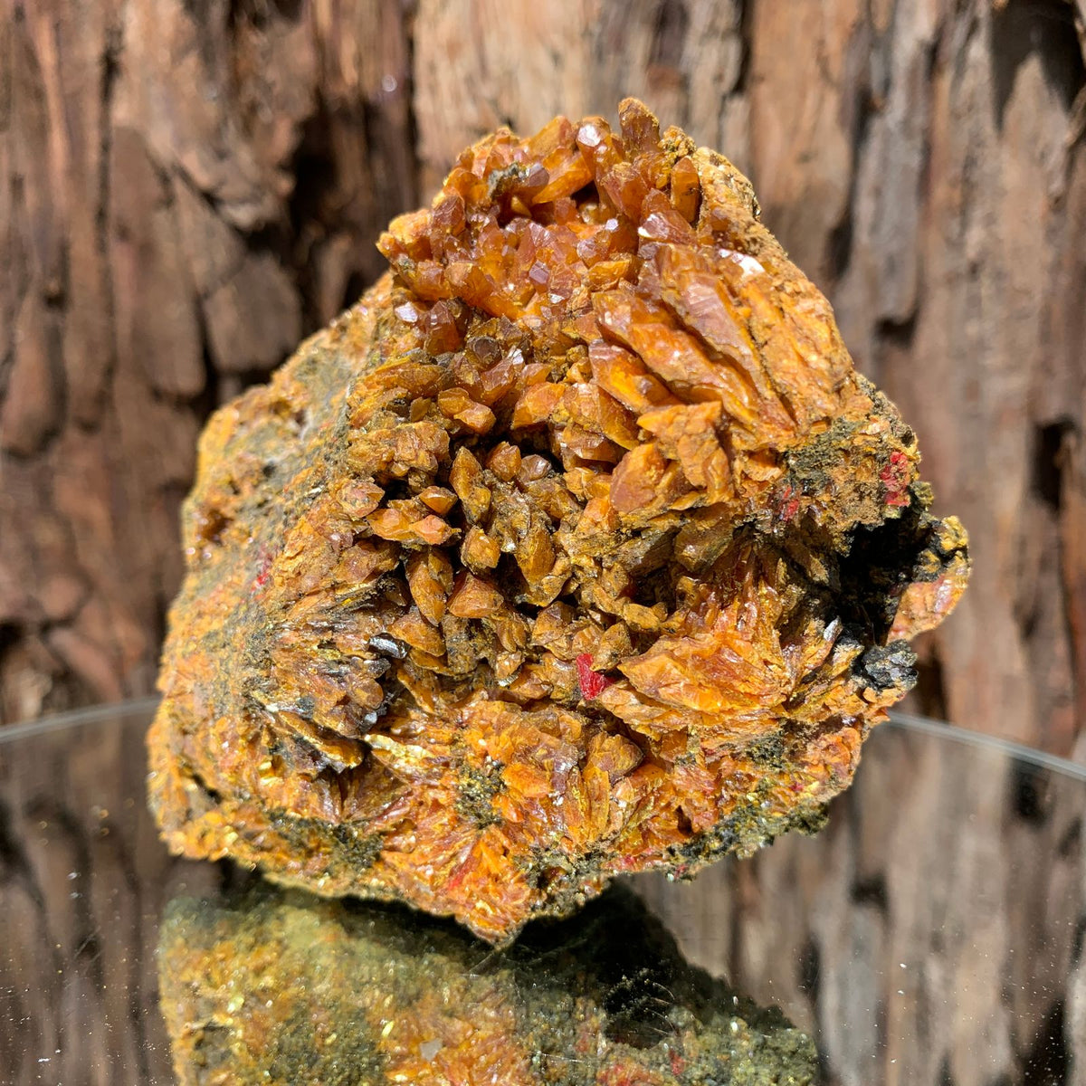 10cm 692g Orpiment from Hunan, China