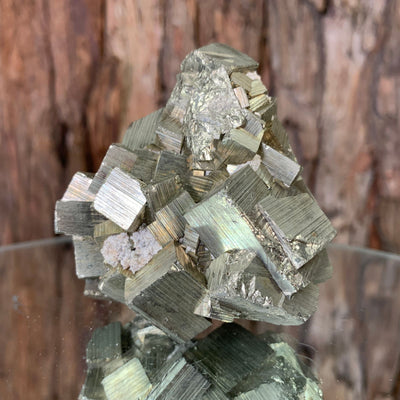 6.7cm 384g Pyrite from Hubei, China