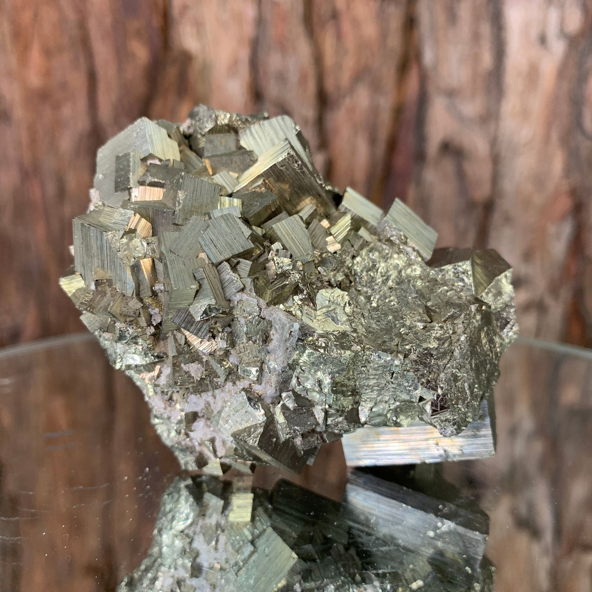 7.3cm 302g Pyrite from Hubei, China