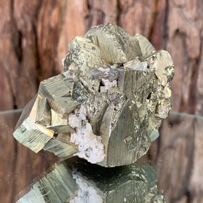 6.5cm 316g Pyrite from Hubei, China
