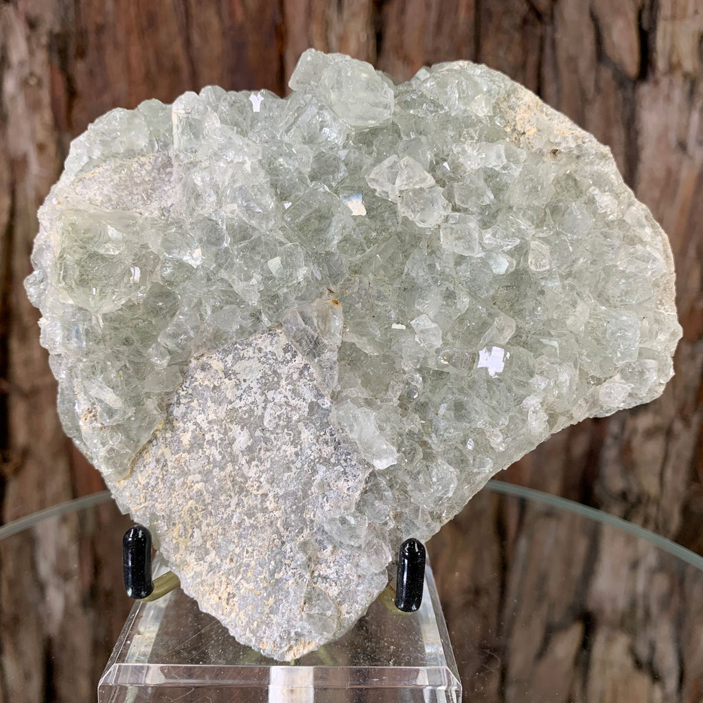 11.5cm 606g Clear Green Fluorite from Xianghualing, China