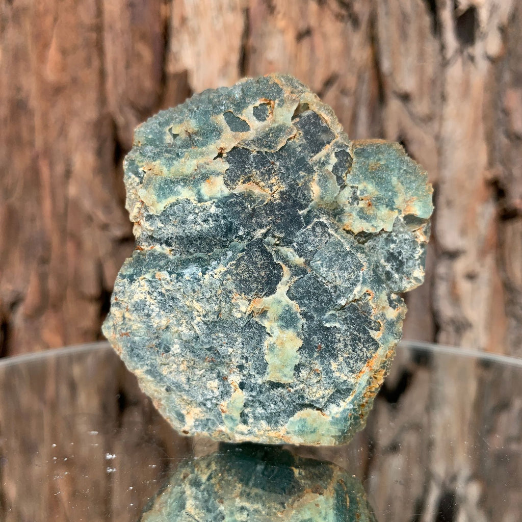 7.3cm 252g Green Fluorite from Heilongjiang, China